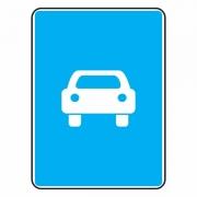 """дорожный знак 5.3 """"Дорога для автомобилей"""""""