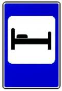 """дорожный знак 7.9 """"Гостиница или мотель"""""""