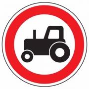 """дорожный знак 3.6 """"Движение тракторов запрещено"""""""