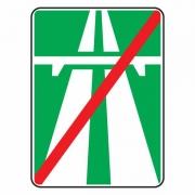 """дорожный знак 5.2 """"Конец автомагистрали"""""""