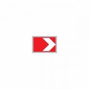 """дорожный знак 1.34.1 """"Направление поворота"""" малый"""