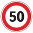 """дорожный знак 3.24 """"Ограничение максимальной скорости"""""""