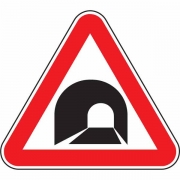 """дорожный знак 1.31 """"Тоннель"""""""