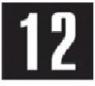 Знак «Знаки для нумерации опор контактной сети»
