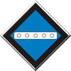 Знак «Временный сигнальный знак - Опустить токоприемник»
