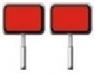Знак «Переносные сигналы съемных дрезин»